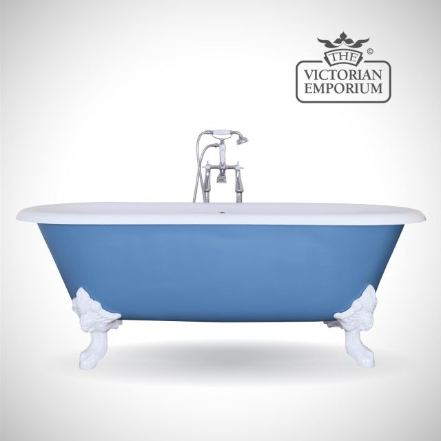 Cartmill cast iron bath - painted