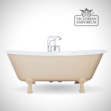 Berrick cast iron bath - painted