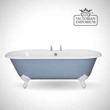 Ashbourne cast iron bath - painted