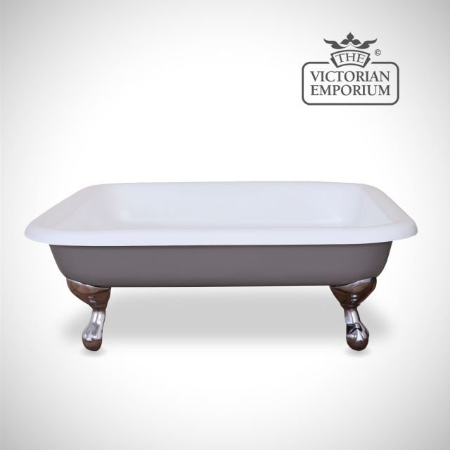 Benthall Cast Iron Shower Tray - painted