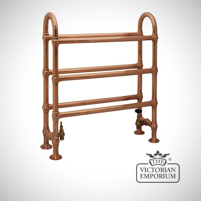 Horse Heated Towel Rail 778x686mm in a chrome or copper finish