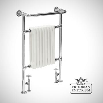 Welborne Heated Towel Rail 960x670mm in a chrome  finish