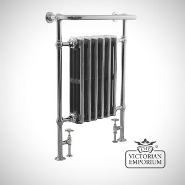 Bierton Heated Towel Rail 960x675mm in a chrome or copper finish