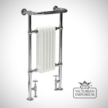 Willowberry Heated Towel Rail 960x540mm in a chrome  finish