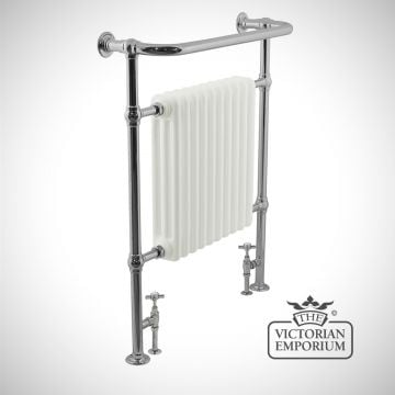 Hawthorn Heated Towel Rail 960x755mm in a chrome finish