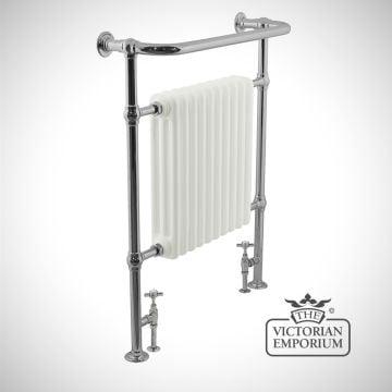 Hawthorn Heated Towel Rail 960x755mm in a chrome finish