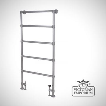 Winthall Heated Towel Rail 1550x626mm in a chrome or copper finish