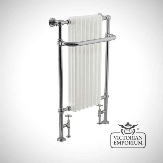 Kingsland Heated Towel Rail 1130x530mm in a chrome finish