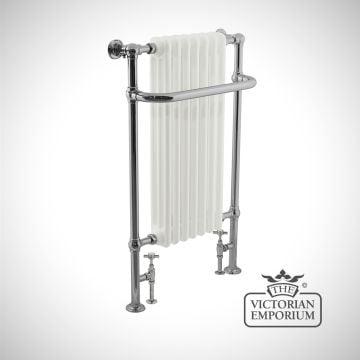 Kingsland Heated Towel Rail 1130x530mm in a chrome finish