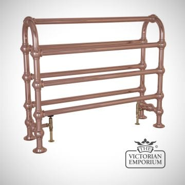 Grande Horse Heated Towel Rail 935x1125mm in a chrome, nickel or copper finish