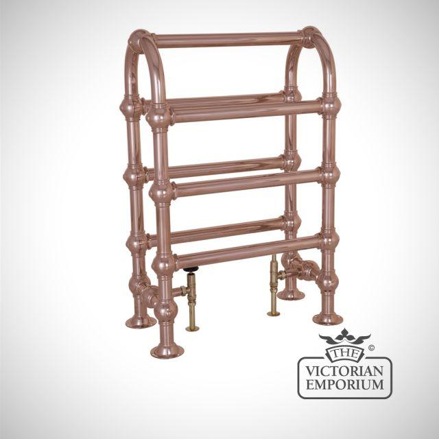Grande Horse Heated Towel Rail 935x625mm in a chrome, nickel or copper finish