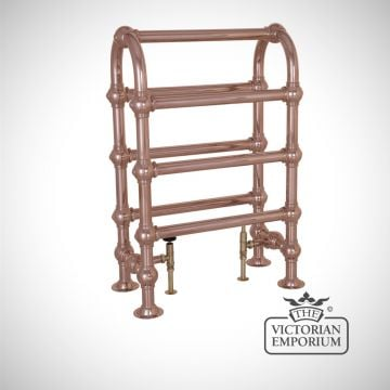 Grande Horse Heated Towel Rail 935x625mm in a chrome, nickel or copper finish