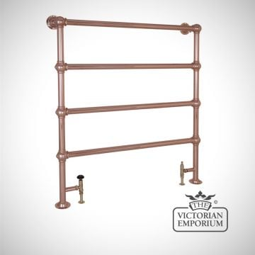 Grande Tall Heated Towel Rail 1300x1150mm in a chrome, nickel or copper finish