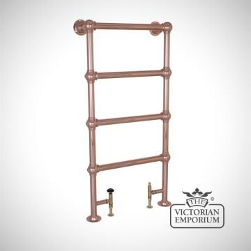 Grande Tall and Slim Heated Towel Rail 1300x650mm in a chrome, nickel or copper finish