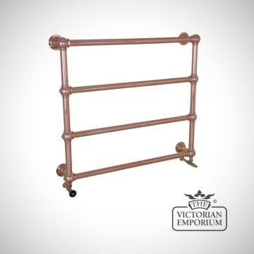 Grande Heated Towel Rail 1000x1100mm in a chrome, nickel or copper finish