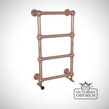 Grande Heated Towel Rail 1000x600mm in a chrome, nickel or copper finish