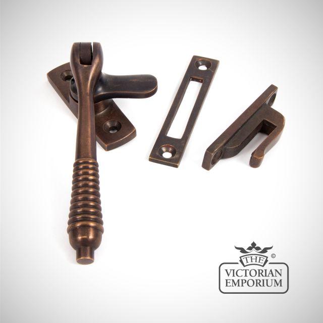 Locking fastener in Aged Bronze