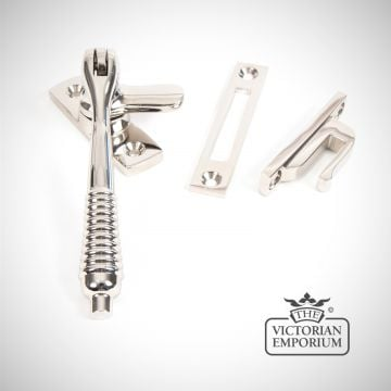 Locking fastener in Polished Nickel