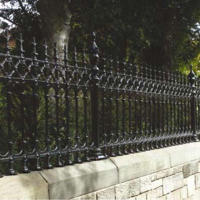 Dumfries half height intermediate railing post