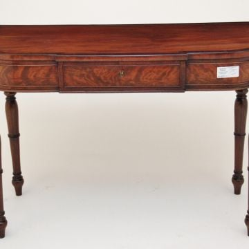 19th Century mahogany side table with a single drawer