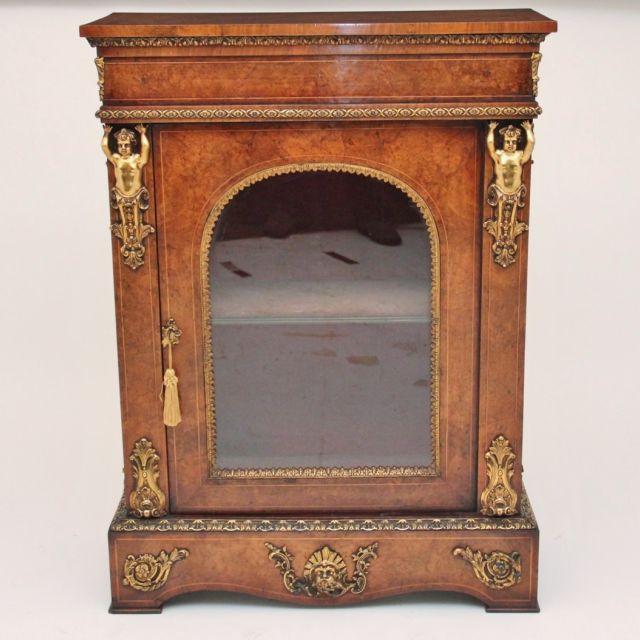 19th Century walnut cabinet