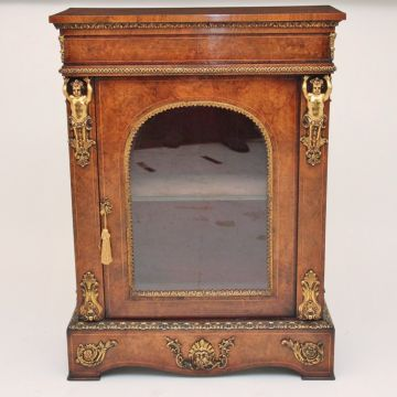 19th Century walnut cabinet