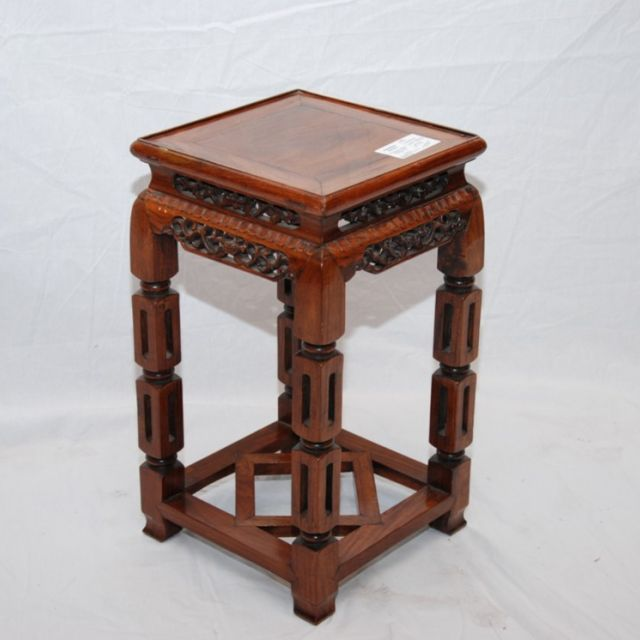 19th Century Chinese rosewood lamp table