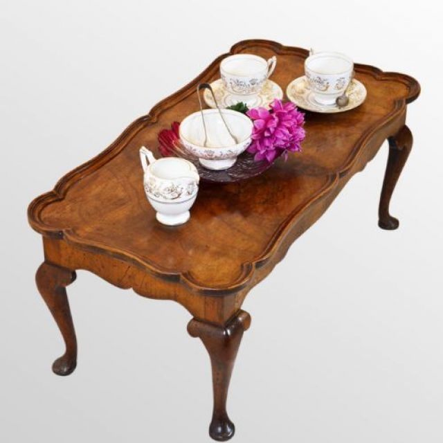 Butlers Tray Table - Burr Walnut