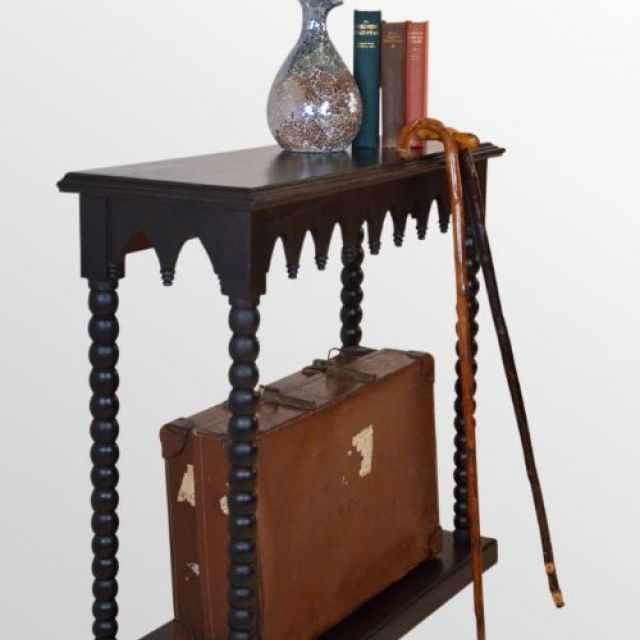 Oak Hall Table - Gothic Styling