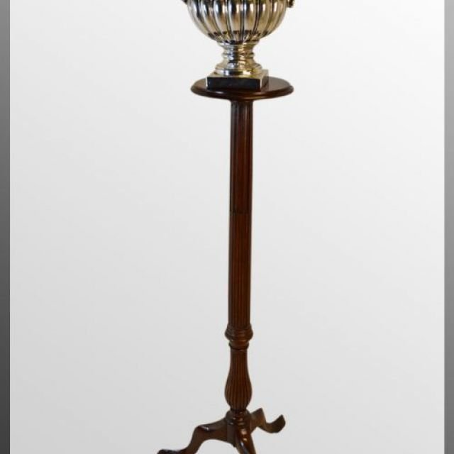Torchere Stand - Reeded Column