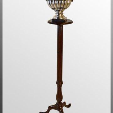 Torchere Stand - Reeded Column
