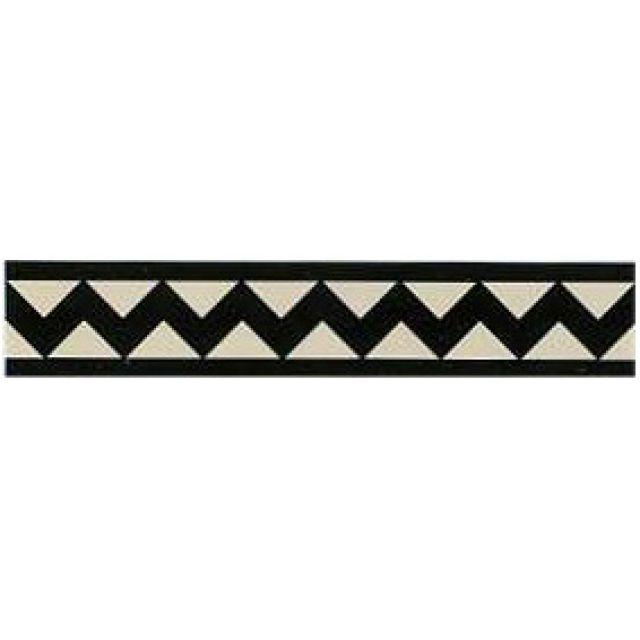 Victorian Border tiles - double dogtooth