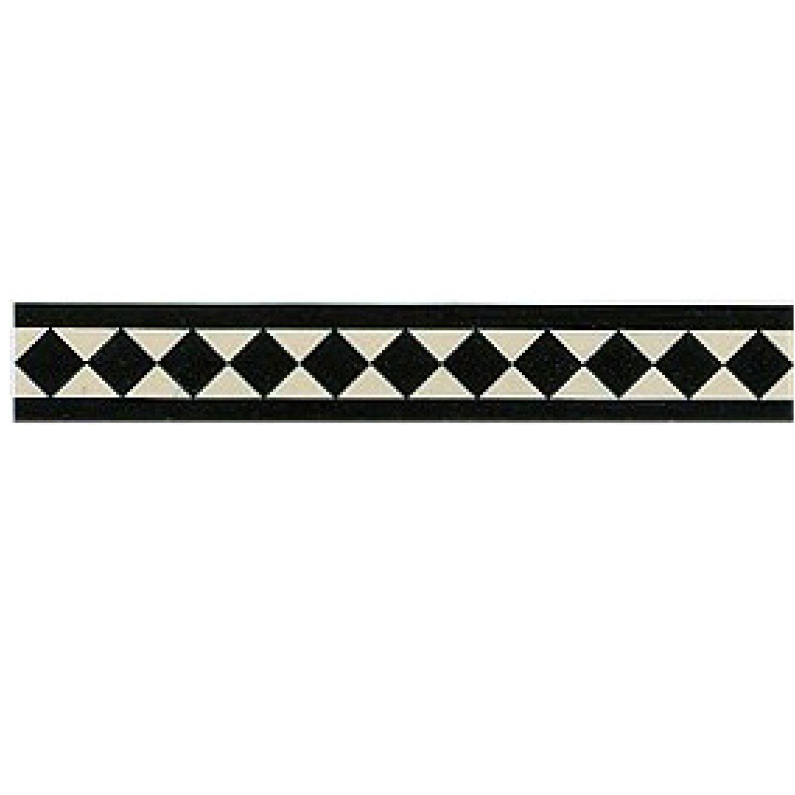 Victorian border tiles classic design victorian mosaic for Classic border design