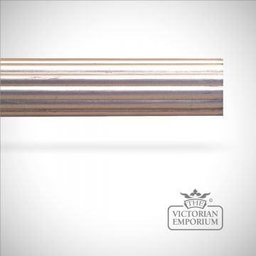 Speciality finish hand decorated reeded pole (no finials) - 51mm