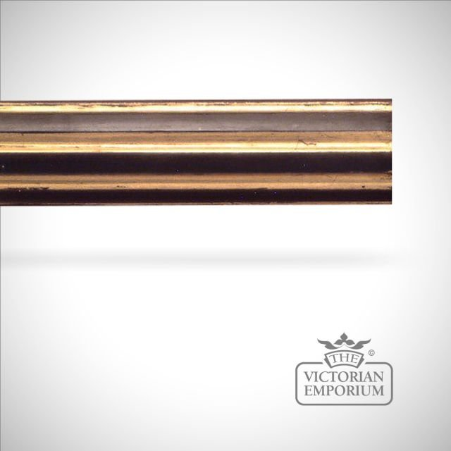 Speciality finish hand decorated fluted pole (no finials) - 51mm