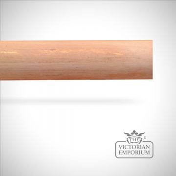 Speciality finish hand decorated plain pole (no finials) - 51mm