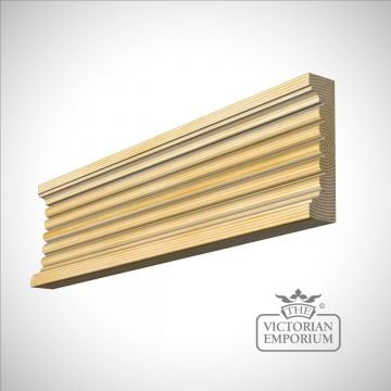 Fluted moulding 118 x 28mm