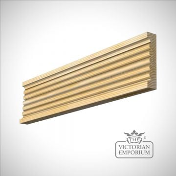 Fluted moulding 91 x 20mm