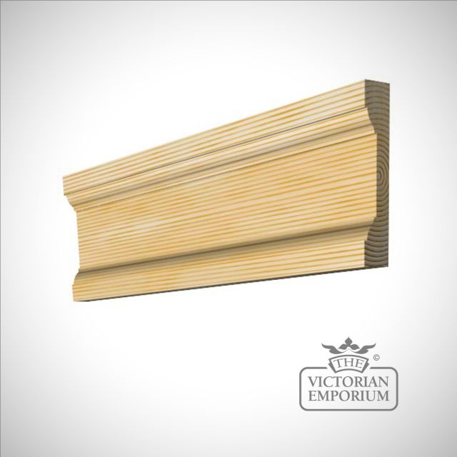 Stepped moulding 91 x 20mm
