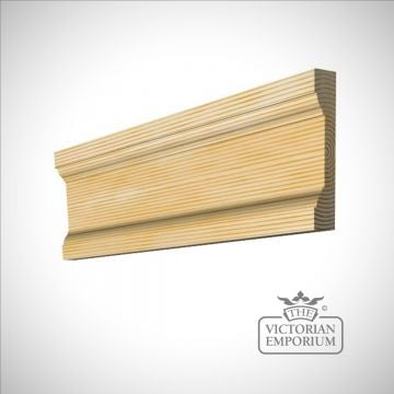 Wooden-mouldings carpentry pine redwood oak ash sapele fluted -architrave-sw120