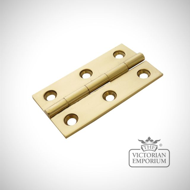 Brass Butt Hinge in a choice of sizes