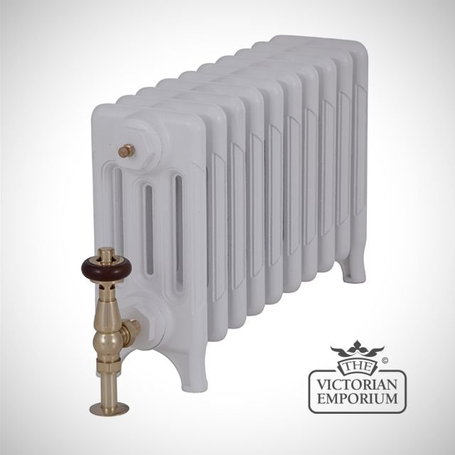 Late Victorian radiator 4 columns - 460mm high