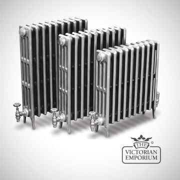 Late Victorian radiator 4 columns - 760mm high