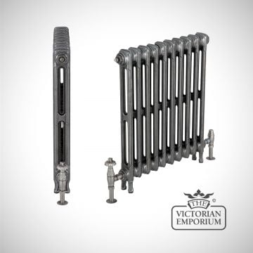 Late Victorian radiator 2 columns - 615mm high