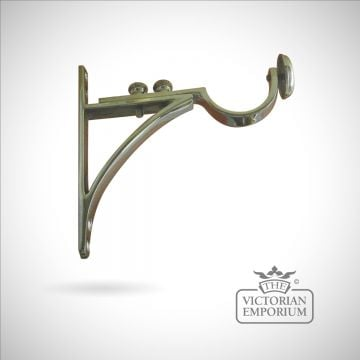 01-classical victorian pole bracket