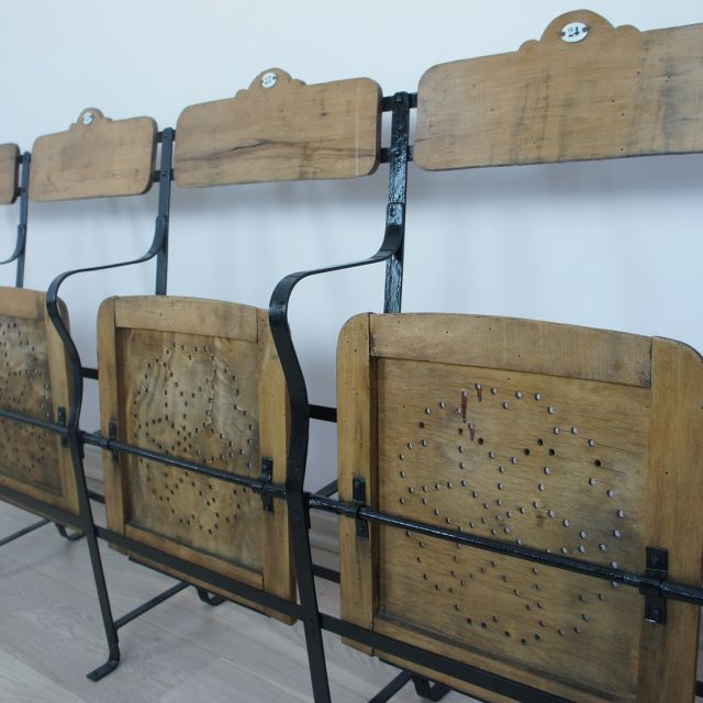 19th Century Cinema Seats