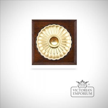 Decorative Fluted Victorian Light Switch - 1 gang