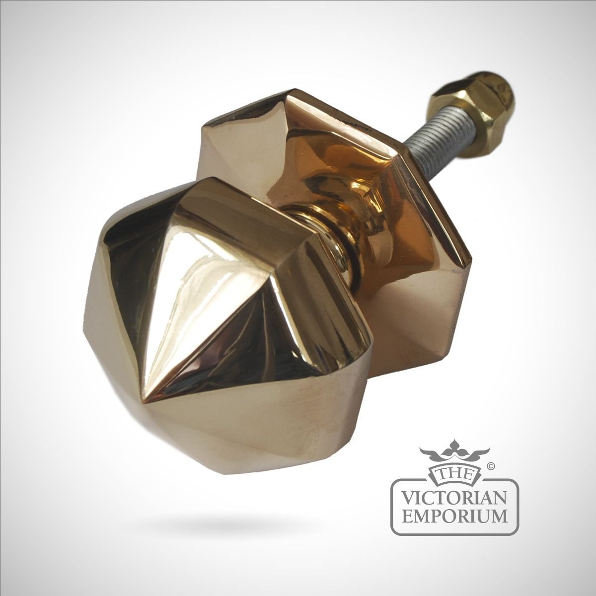 Octagonal Front Door Knob Door knobs and door handles