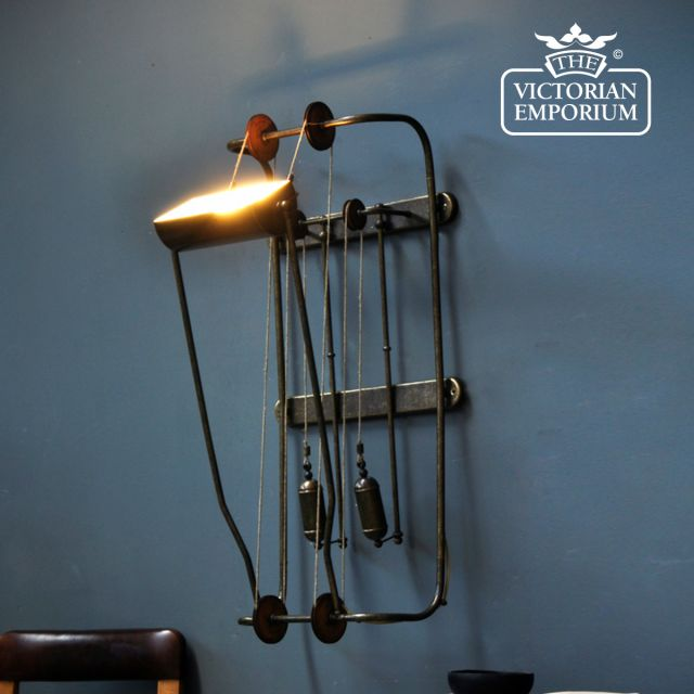 Quirky wall lamp