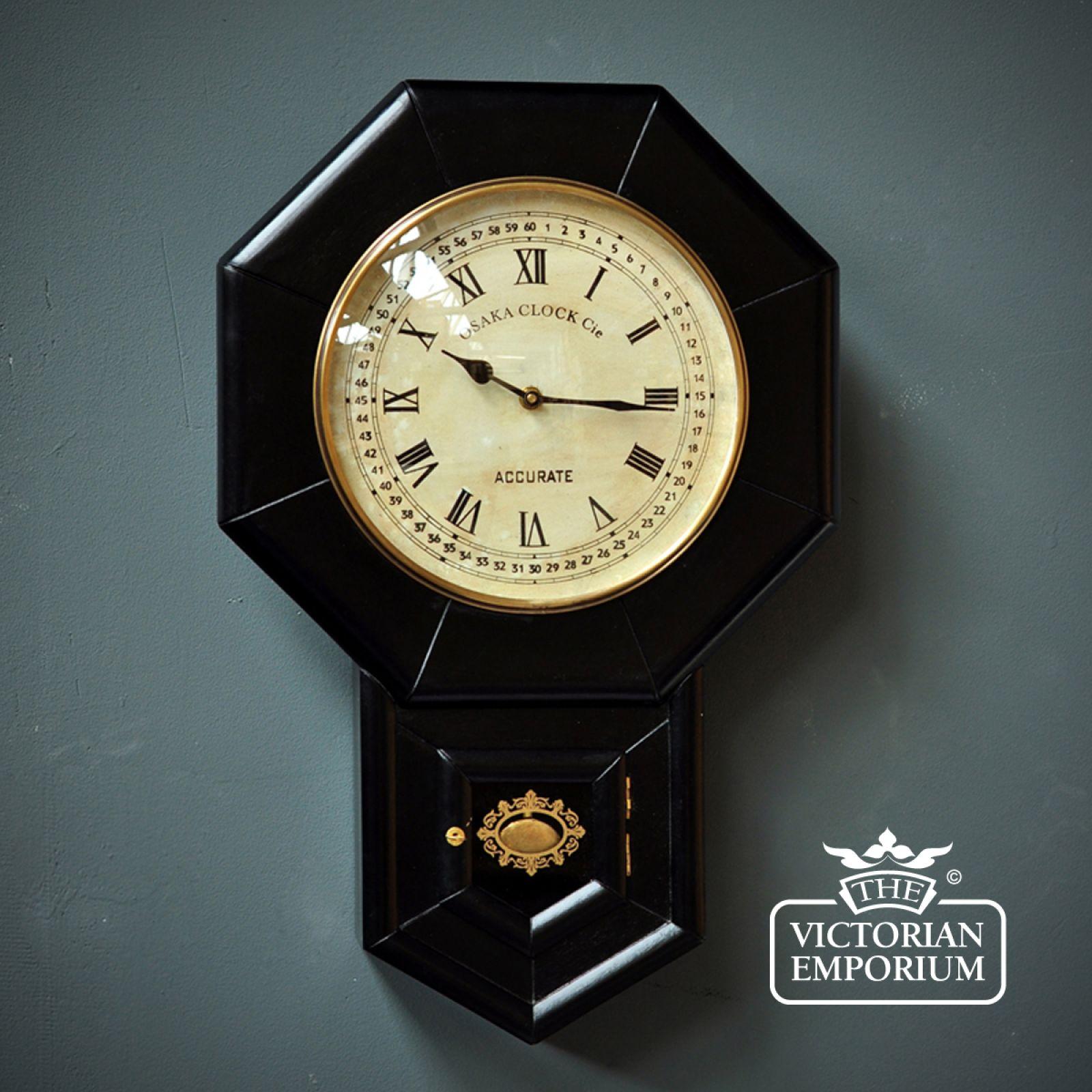 Pendulum Wall Clock Clocks The Victorian Emporium